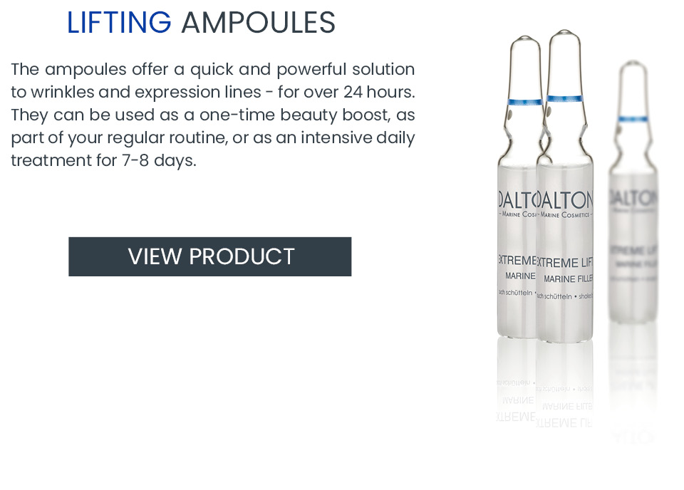 Lifting ampoule – anti wrinkle product