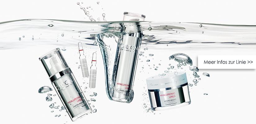 Feuchtigkeitsspendende Hautpflege mit Hyaluronsäure und Urea für trockene Haut