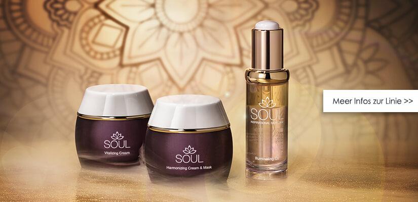 Verwöhnende Gesichtspflege für Haut und Seele