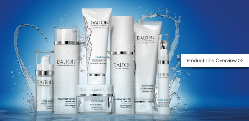 DALTON universal products for all skin types
