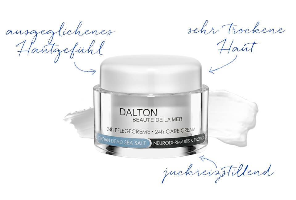 Gesichtscreme für Neurodermitis Haut