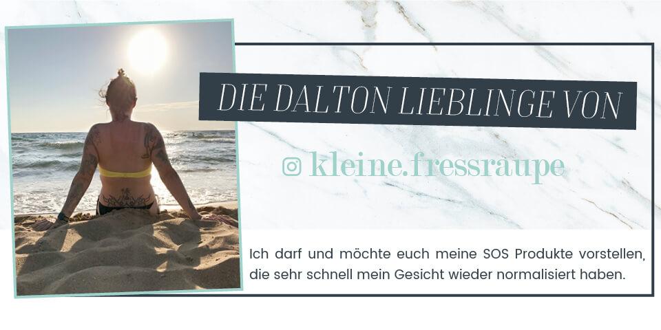Die DALTON Lieblingsprodukte von Judith kleine.fressraupe