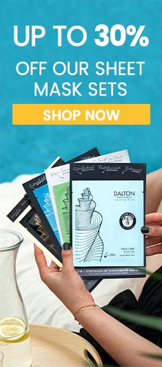 Up to 30% off our sheet mask sets!