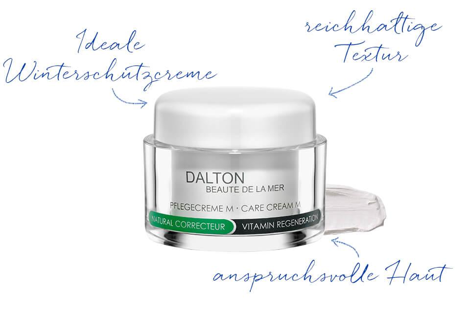 Reichhaltige Gesichtscreme für geschädigte Haut