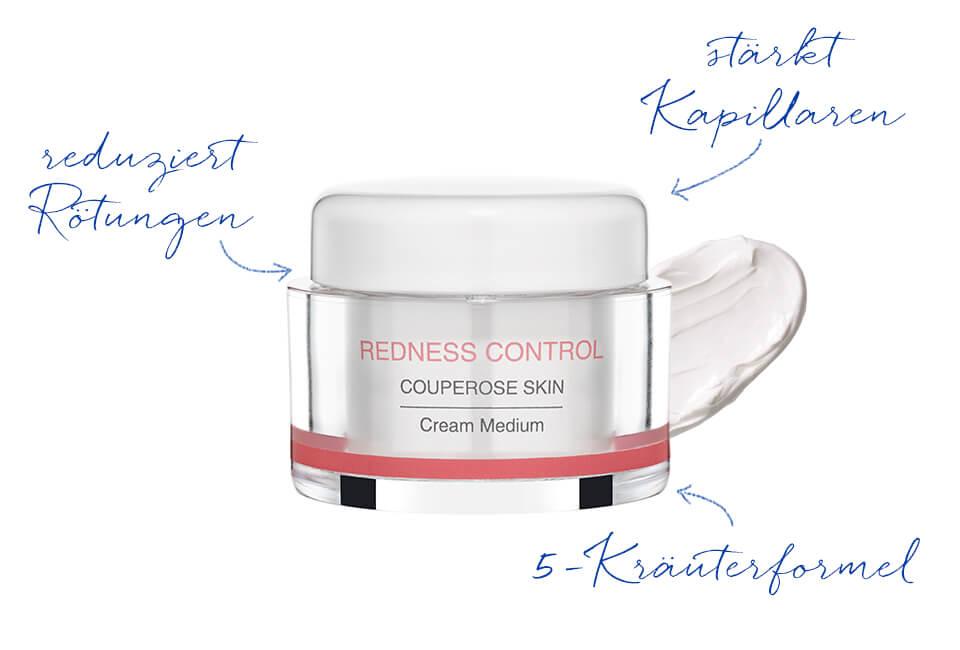Pflegecreme für Couperose Haut