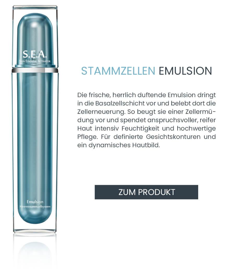 S.E.A. Anti-Aging Emulsion zum Schutz der Stammzellen