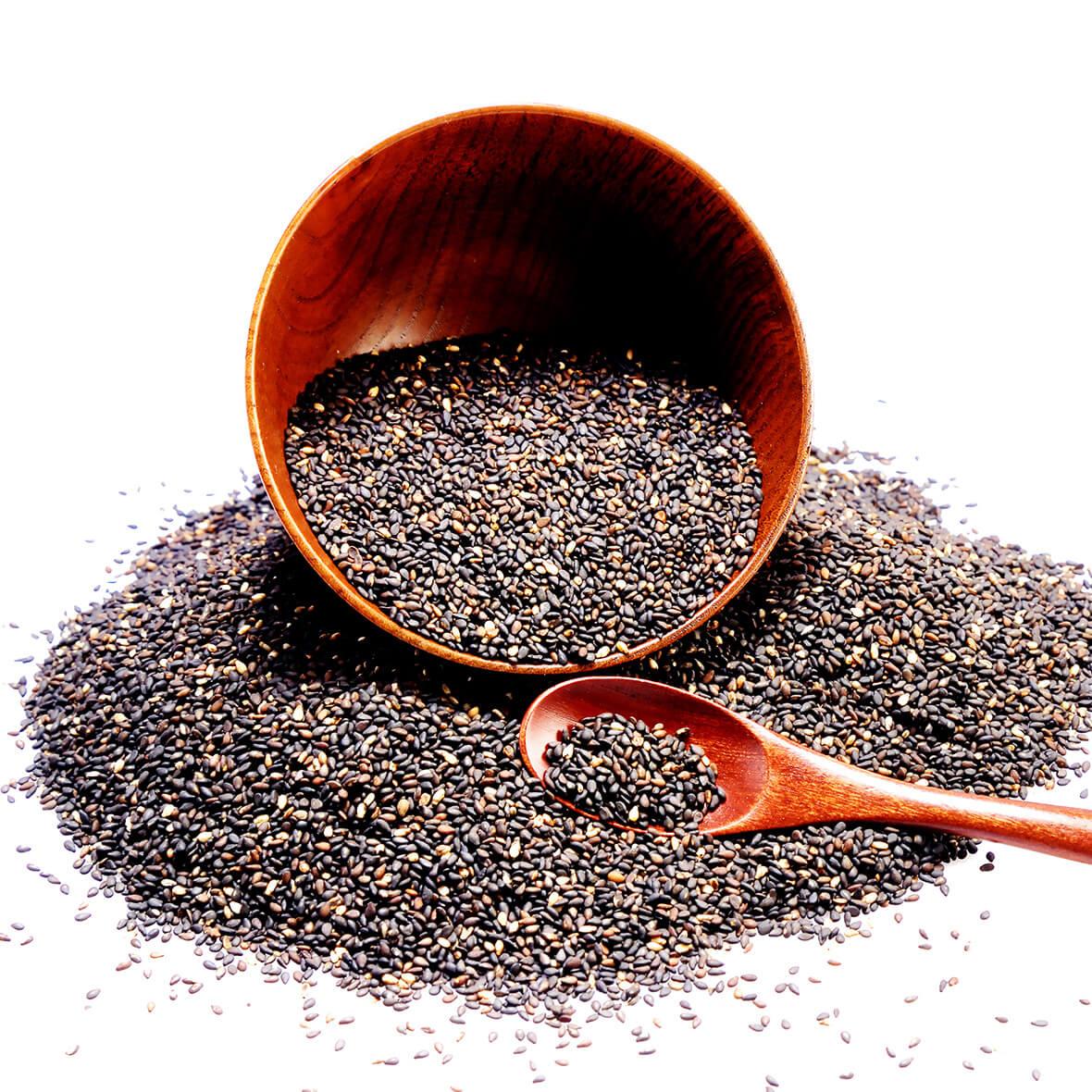 schwarzes sesamöl