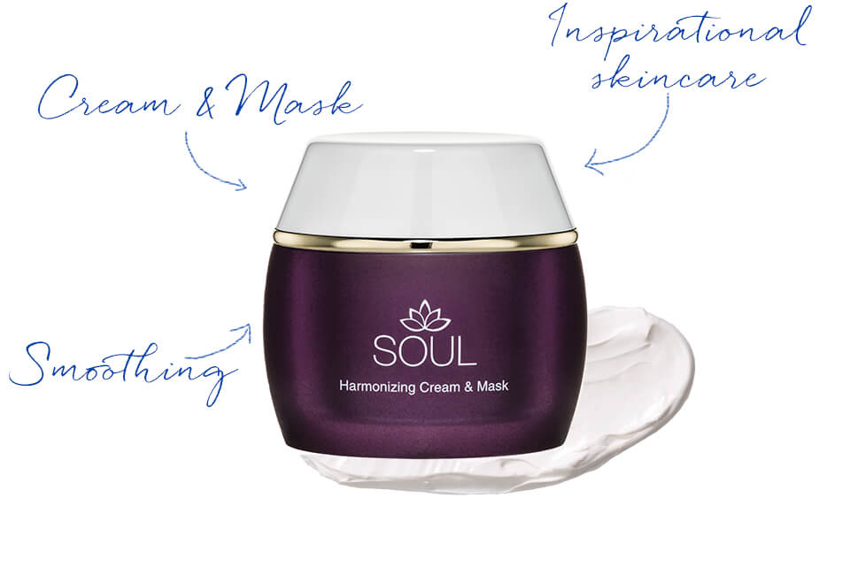 Harmonizing Cream & Mask for stressed skin