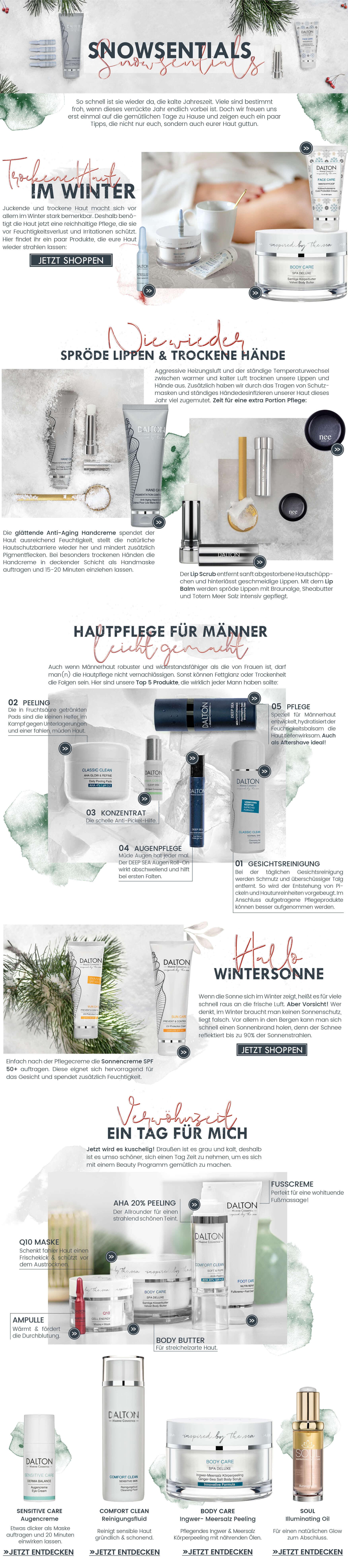 Tipps für trockene Haut im Winter