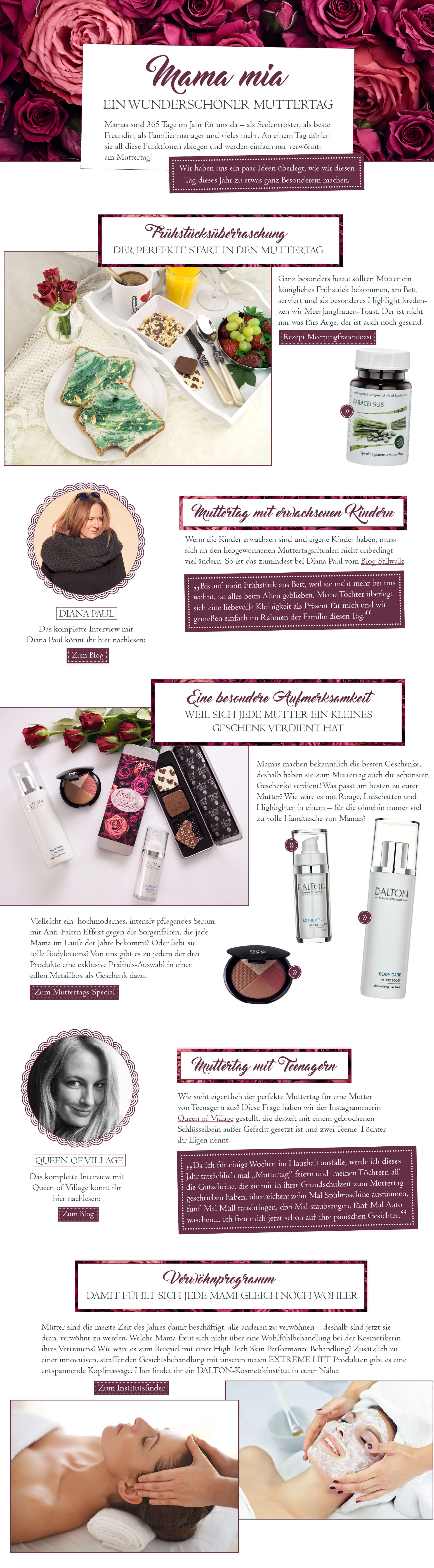 Hilfreiche Beauty Tipps für den Muttertag