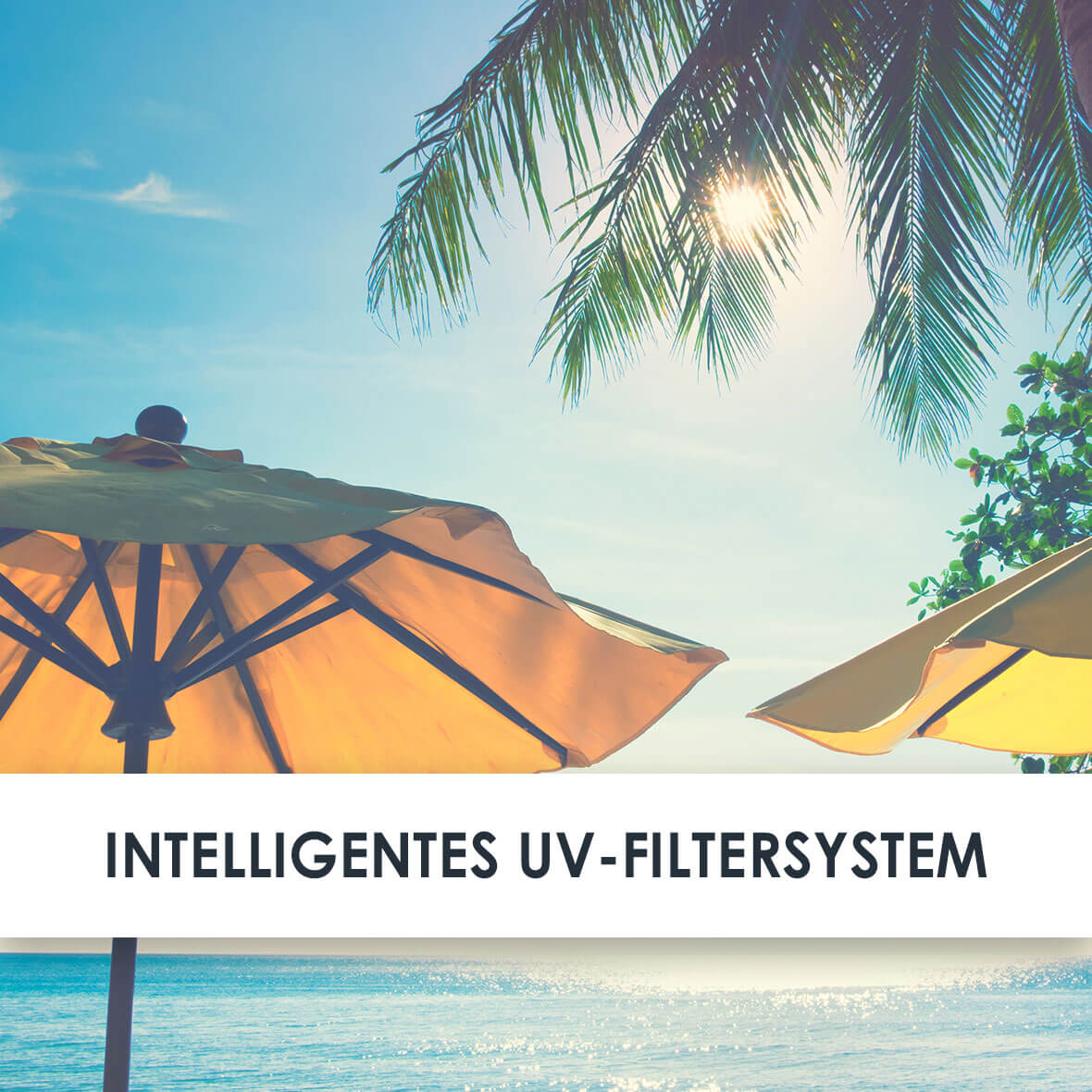 Wirkstoff UV Filter System